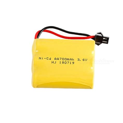 Battery Ni Cd Aa 700mah 3 6v 3 6v 700mah 3 aa 1 2v ni cd rechargeable battery pack