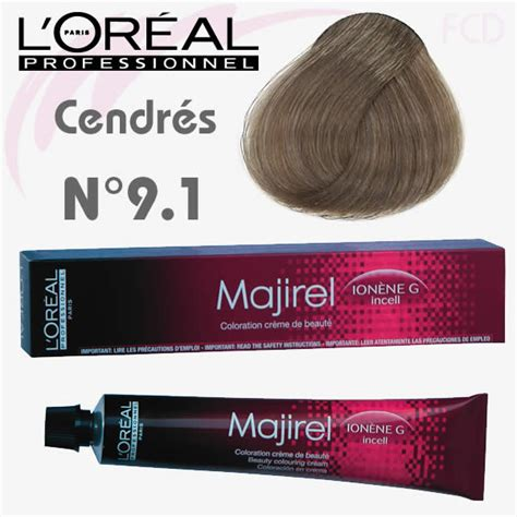l oreal professionnel majirel blush majirel cendr 233 9 1 blond tr 232 s clair cendr 233 50 ml