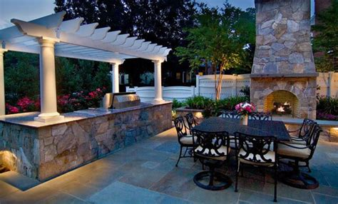 Backyard Grill How To Light Lighting Annapolis Md Photo Gallery Landscaping Network