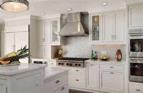 white kitchen white backsplash kitchen kitchen backsplash ideas white cabinets trash