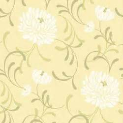 Relaxing Master Bedroom Ideas linen floral wallpaper in lemon by crown from homebase