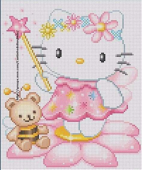 hello kitty cross stitch the world of cross stitching more hello kitty graphics