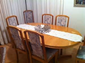 Solid Oak Dining Room Set by Tables 8 Seater Solid Oak Dining Room Set Was Listed For
