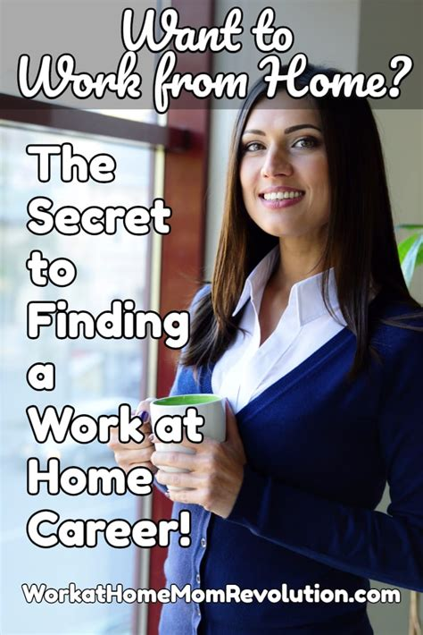 secret at work the secret to finding a work at home career work at home