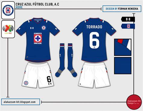 desain jersey league cruz azul f 250 tbol club a c fantasy home kit under armour