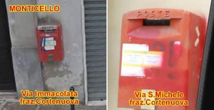 ufficio postale casatenovo casatese mappatura delle cassette postali rosse da
