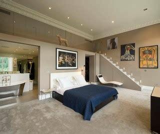 Peinture Beton 3161 by Contemporary Bedroom