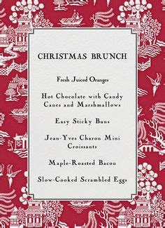 1000 images about christmas brunch on pinterest