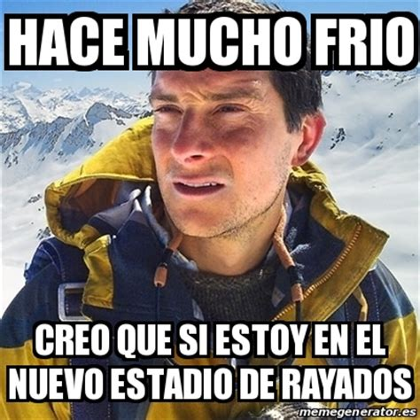 Meme Bear Grylls - meme bear grylls hace mucho frio creo que si estoy en el