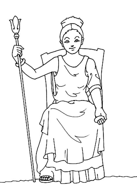 hera greek goddess facts for kids