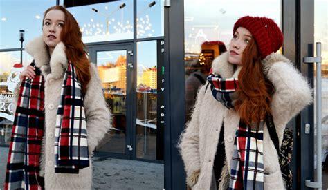 Wst 14788 Woolen Set Top Skirt vita chen vii co woolen buttons slit parka vii co