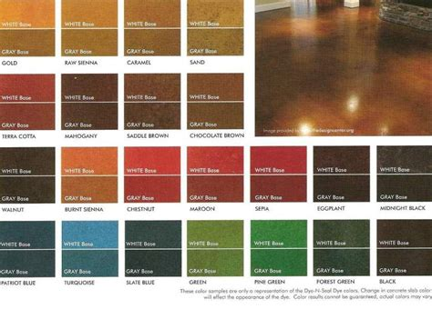 concrete stain colors concrete stains search home is where the