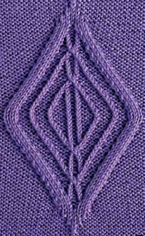 diamond pattern in knitting diamond cable knitting chart only knitting bee