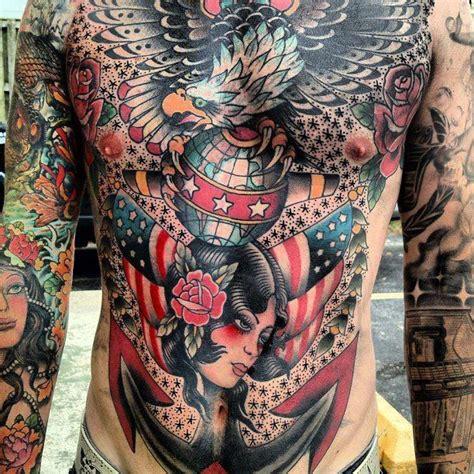 full upper body tattoo designs american traditional full upper torso amazing