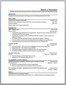resume book template western state colorado