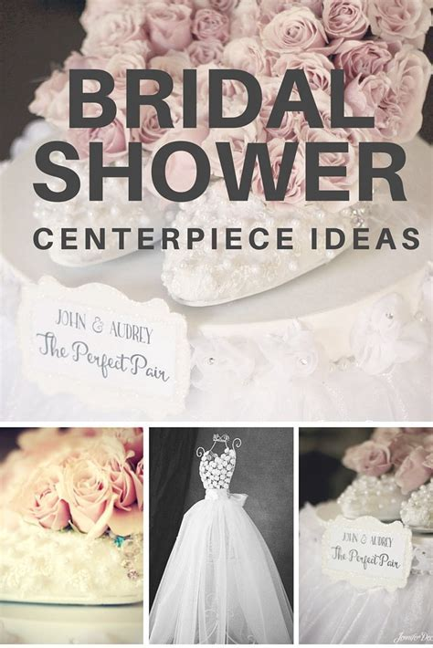 Bridal Shower Centerpiece Ideas   Affordable and Adorable!