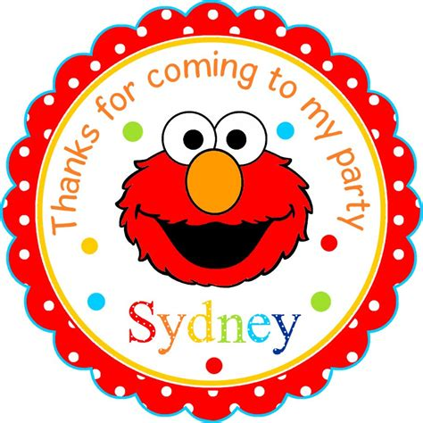 free printable elmo name tags elmo stickers personalized elmo labels elmo birthday party