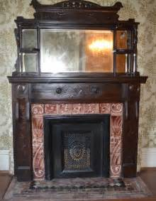 Antique Wood Fireplace by Antique Mantels Sa1969