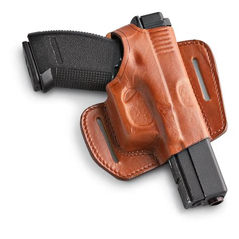 jbp 174 molded leather belt slide holster 187280 holsters