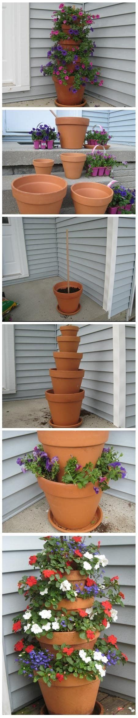 Terracotta Garden Decor Best 20 Flower Pot Tower Ideas On Pinterest Stacked Flower Pots Diy Yard Decor And Garden Crafts