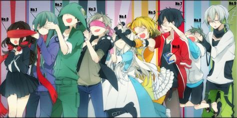 mekakucity actors mekakucity actors kagerou project anime amino
