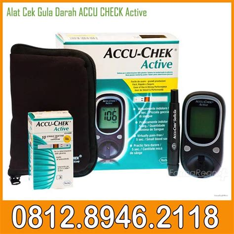 Alat Test Gula Dalam Darah alat cek gula darah accu check active