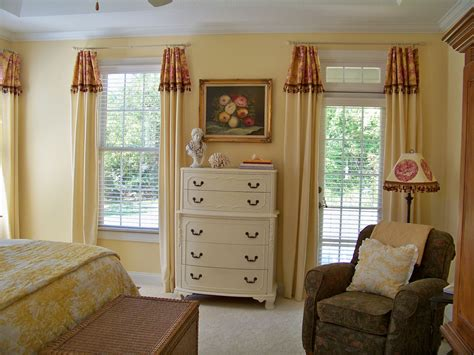 comforts  home master bedroom curtain reveal