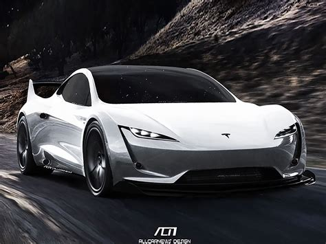 tesla roadster spacex   extreme   carbuzz