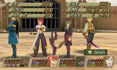 Kaset 3ds Tales Of The Abyss tales of the abyss 3ds screenshots and trailer from comic neogaf