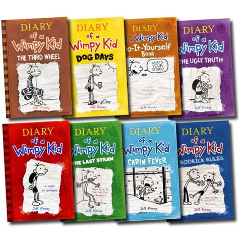 pictures of jeff kinney books diary of wimpy kid series by jeff kinney greg records
