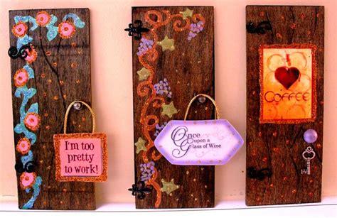 Fairy Door small wooden hand painted fairy doors