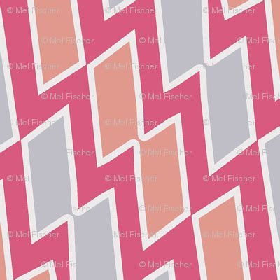 tribal pattern pink and gray tribal diamond pattern in peach dark pink and gray fabric