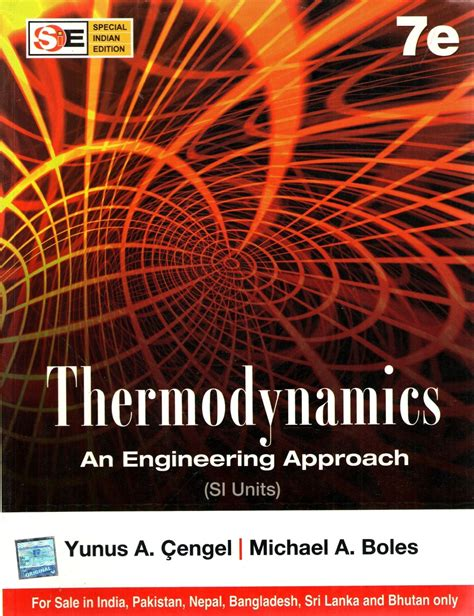 thermodynamics  engineering approach  units  edition buy thermodynamics