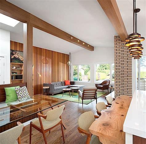 Desain Interior Rumah Retro | inspirasi desain interior rumah huni bergaya retro modern