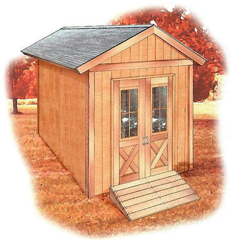 shed diagrams a free 8 x 12 storage shed plan with step by step