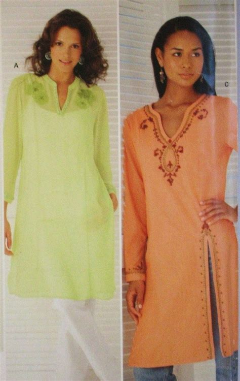 You Are Beautiful Alure Tunic This Simplicity 4528 Tunic Sewing Pattern Is New And