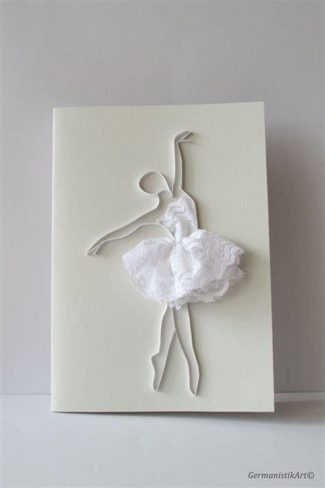 ballerina pop up card template ballet dancer quilling card ballerina card blank card
