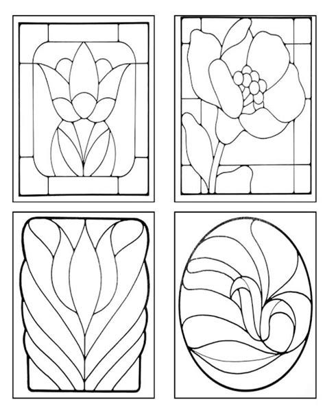 coloring pages of stained glass patterns stained glass coloring pages christmas colorings net