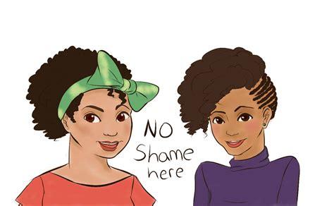 natural hairstyles cartoon natural hair cartoon natural hair cartoons pinterest