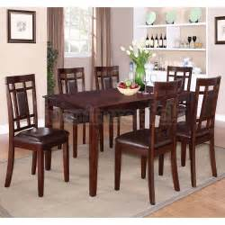dining room set 7 piece westlake 7 piece dining room set standard furniture