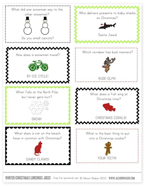 printable christmas joke cards printable christmas jokes christmas decore