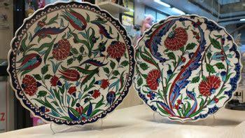turco ottomano turco ottomano piastrelle di iznik piatto di ceramica