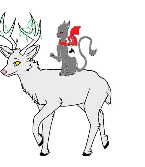 stag wallpaper grey stag and grey by pepperdance on deviantart