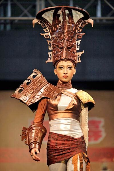 Chocolate Wardrobe by Chocolate Fashion Show In China Photo1 India Today