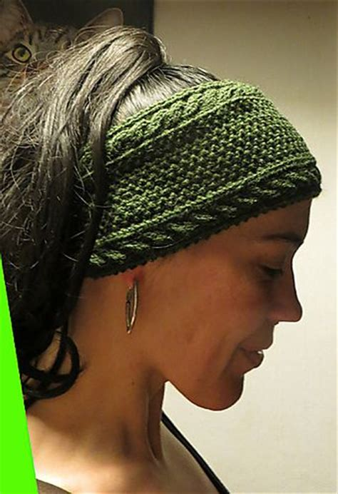 free knitted headband patterns pin by susan allen on knit
