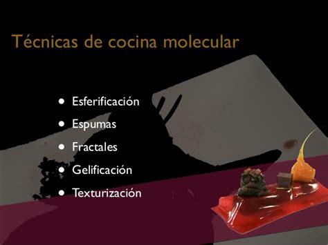 cocina molecular conceptos tecnicas cocina molecular novadors