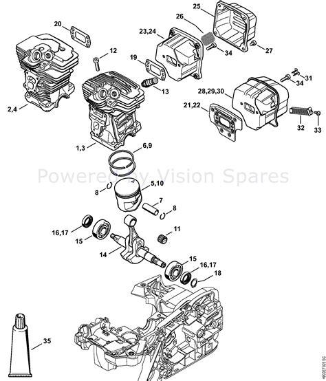 Stihl Ms 650 Parts Diagram