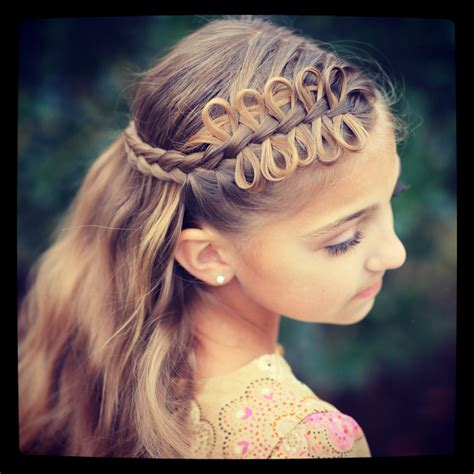 pretty hairstyles using braids bow braids cute girls hairstyles globezhair