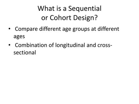 difference between cross sectional and cohort ppt quasi experiments powerpoint presentation id 868344