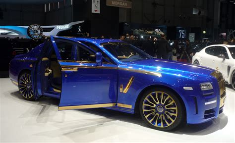 phantom ghost car mansory s rolls royce ghost of auto show present is